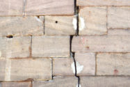 sandstein-kleben