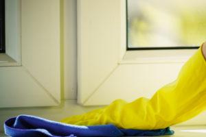 Fensterbank polieren – mit der richtigen Pflege glänzt die Fensterbank