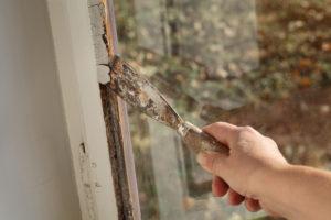 Asbest im Fensterkitt?