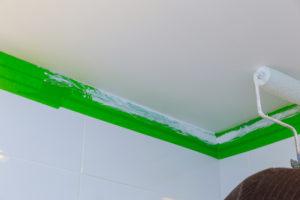 Silikatfarbe gehört zu den besten Wandanstrichen für das Bad
