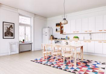 Welcher Teppich ist für die Küche geeignet? - Ideen und Hinweise