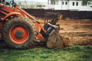 Muss Ihr Grundstück begradigt werden?