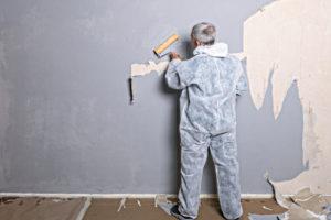 Glasfasertapete sauber abziehen: So geht es