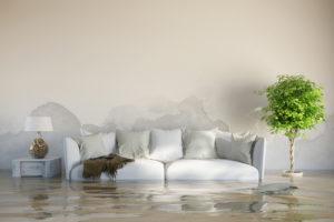 Wasserschaden im Estrich – wie wird der Estrich wieder trocken?