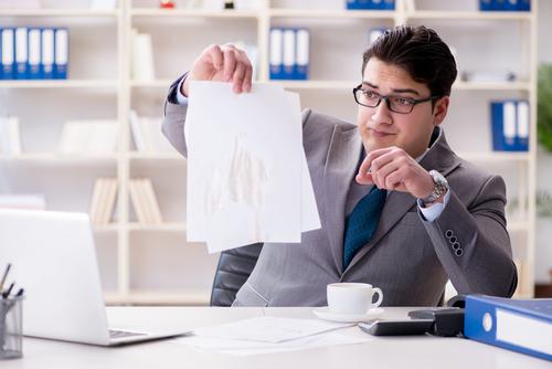kaffeeflecken-von-papier-entfernen